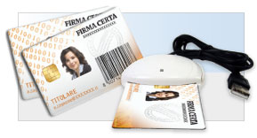 Firma Digitale - Smart Card Personalizzata